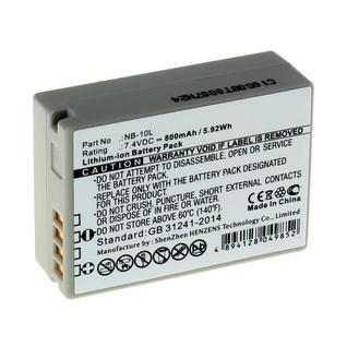 Аккумуляторная батарея iBatt для фотокамеры Canon PowerShot SX60 HS. Артикул iB-F131
