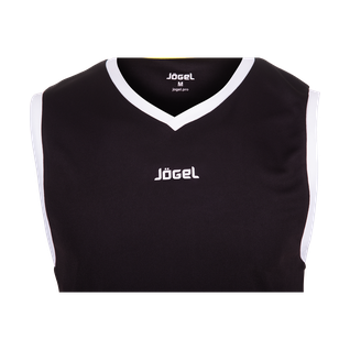 Майка баскетбольная Jögel Jbt-1020-061, черный/белый, детская размер YS