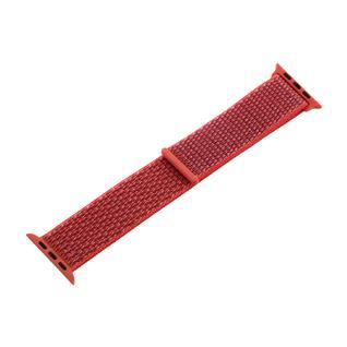 Ремешок COTEetCI W17 Magic Tape Band (WH5226-XT-44) для Apple Watch 44мм/ 42мм Apricot Pink Абрикосово-розовый