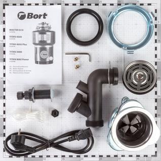 Измельчитель пищевых отходов Bort TITAN MAX Power (91275790)