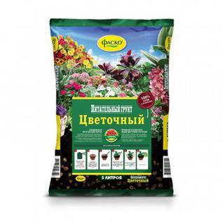 Грунт для цветов Фаско Цветочный 5л Тп0101ЦВЕ02