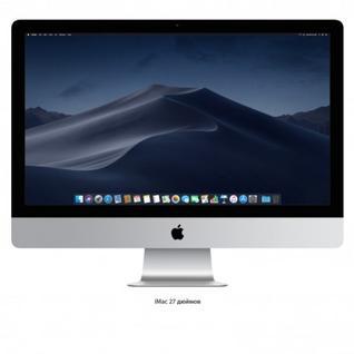 "Моноблок Apple iMac (Retina 5K, середина 2019 г.) MRR02 Core i5 3.1 Ghz/8 ГБ/1000 ГБ/AMD Radeon Pro 575X/27""/5120x2880/MacOS"