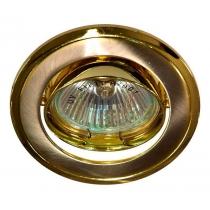 Встраиваемый светильник Feron 301T-MR16 титан-золото