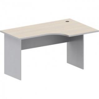 Мебель Easy St Стол прав(008,235)св.дуб/сер.(430/030)Ш1400