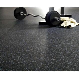 Резиновое покрытие ( рулонное) EcoStep Fitness 15 ( Эко Степ Фитнес 15)