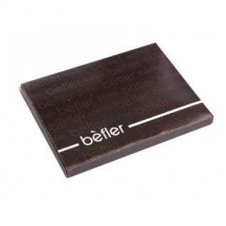 Бумажник водителя BEFLER BV.1-1. Шик , нат.кожа, черный