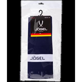 Гетры футбольные Jögel Ja-003, темно-синий/белый размер 32-34