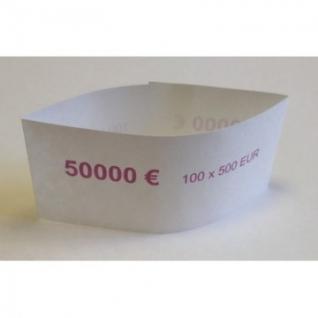 Кольцо бандерольное номинал 500 евро, 500 шт/уп