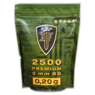 EliteForce Шарики Elite Force Premium BB 0.20 г 2500 шт., цвет белый