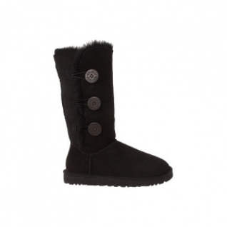 UGG Australia Bailey Button Triplet Black