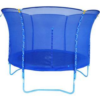 Tramp Детский батут Blue Smile Tramp – 3,0 метра синий с защитной сеткой