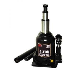 Домкрат бутылочный с двумя штоками, 8т с клапаном (h min 270мм, h max 635мм) Big Red