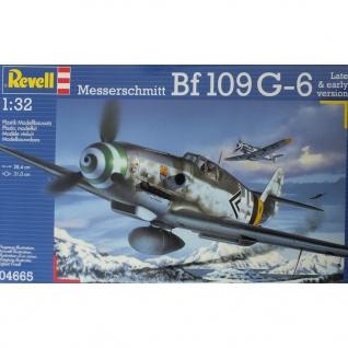 Сборная модель немецкого истребителя Messerschmitt Bf.109 G-6, 1:32 Revell