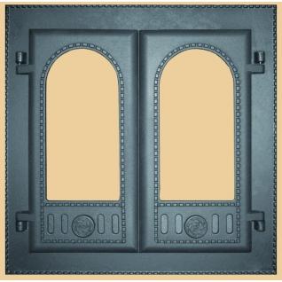 Дверка каминная двустворчатая ДК-6С