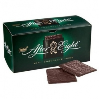 Шоколад After Eight темный с помадной начинкой со вкусом мяты,200г