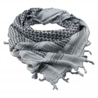 Made in Germany Шемаг серо-черного цвета 110 x 110 см