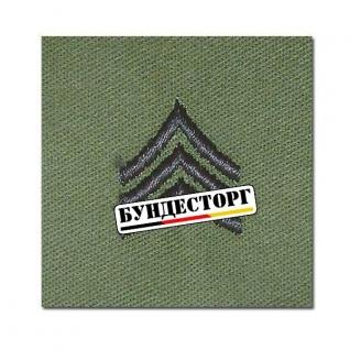Знак ранга US Textil Sergeant олива