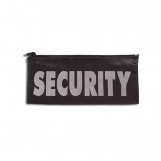 Нашивка нагрудная Security, на молнии