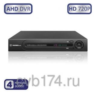 4-канальный AHD видеорегистратор MATRIX M-4AHD720P Prime