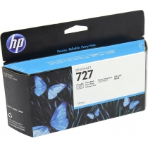 Оригинальный картридж B3P23A №727 для принтеров HP Designjet T1500/T2500/T920, чёрный, струйный, 130 мл 8634-01 Hewlett-Packard