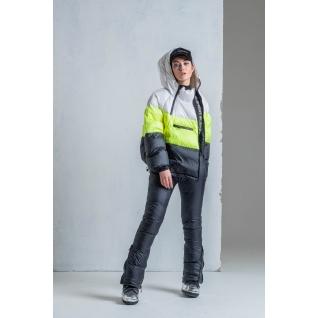 Куртка ODRI 18210208 Куртка ODRI WHITE / LUMIIE LIME / BLACK (белый/желтый/черый)