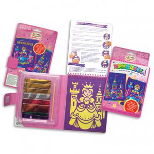 Набор для творчества аппликация фольгой Game to Go Принцесса 9821569