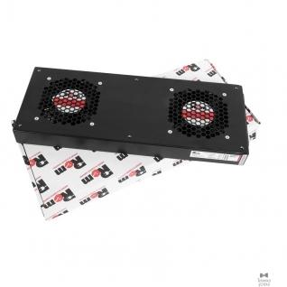 Цмо ЦМО Модуль вентиляторный, 2 вентилятора, колодка, чёрный R-FAN-2J-9005
