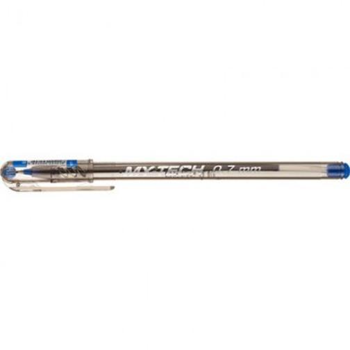 Ручка шариковая My Tech с игольчатым наконечником неавт 0,7мм синий 37874144 1