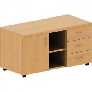 Мебель Mon_Эталон Тумба выкатная широкая КЭ14 бук