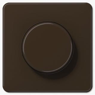 Крышка Jung CD1540BR роторных диммеров (спутников, потенциометров) коричневая пластик