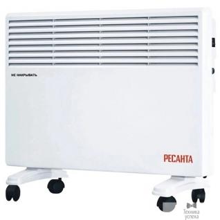 Ресанта Ресанта ОК-2000Е (LED) 67/4/14 Конвектор 1000/2000 Вт, защита от перегрева, электронный термостат, LED дисплей, таймер выключения, защита IPX4, вес 5,8 кг