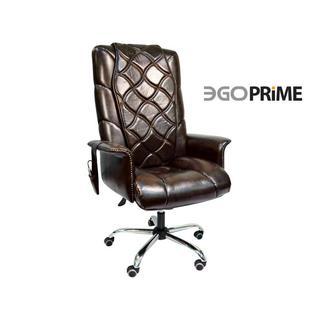 EGO Офисное массажное кресло EGO PRIME EG1003 Шоколад (LUX)