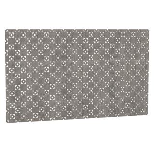 Декоративный экран Квартэк Техно 600*1500 (металлик)
