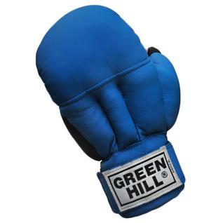 Перчатки для рукопашного боя Green Hill Pg-2047, к/з, синий размер M