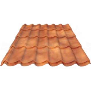 Металлочерепица МП Супермонтеррей texture 0.45