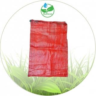 Сетка овощная, пропилленовая, красная 50х85 (39 гр)