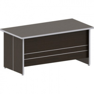 Мебель САТУРН-Д Стол руководителя 1600 (800,022)венге(854)