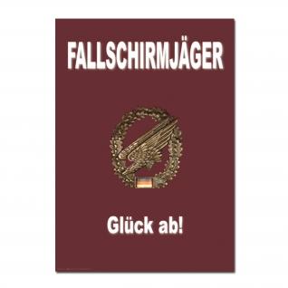 Постер Fallschirmjaeger Glueck Ab