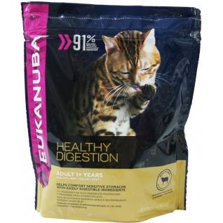 Eukanuba Eukanuba Cat Adult для кошек с ягненком и печенью 400 г