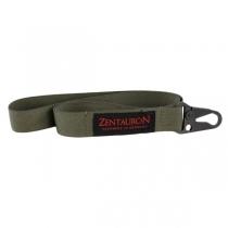 Zentauron Карабин для ключей Zentauron с лентой, цвет оливковый