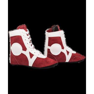Обувь для самбо Rusco Rs001/2, замша, красный размер 38