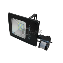 GSlight SMD SLIM 30W 220V IP65 Warmс датчиком