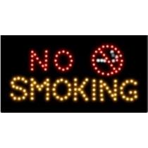 """Светодиодная табличка """"No Smoking"""" 50*35 см."""