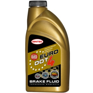 Тормозная жидкость Sintoil EURO DOT-4 910мл