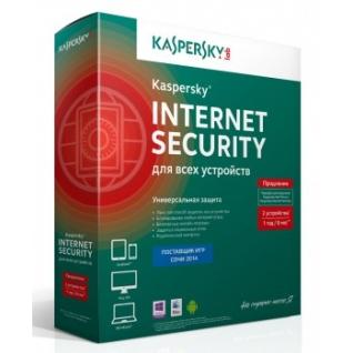 Kaspersky Lab Антивирусная программа Kaspersky Internet Security Multi-Device Russian Edition. 2-Device 1 year Ren