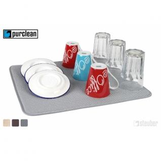 Кухонные аксессуары. Открывалки. Steuber GmbH Коврик для сушки посуды впитывающий 40 х 45 см NW-060504