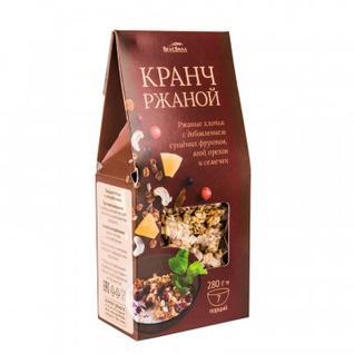 Завтрак Гранола Кранч ржаной Вкусвилл, 280г