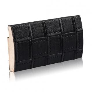 Декоративный профиль кожаный ЭЛЕГАНТ Wicker 55 мм (белый, коричневый, черный)