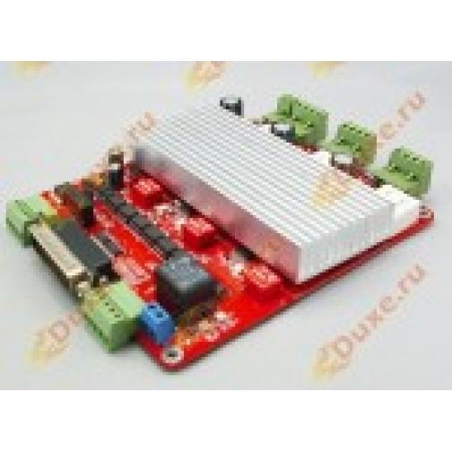 Контроллер шаговых двигателей 3х осевой TB6560HQV3-T3 red 862896