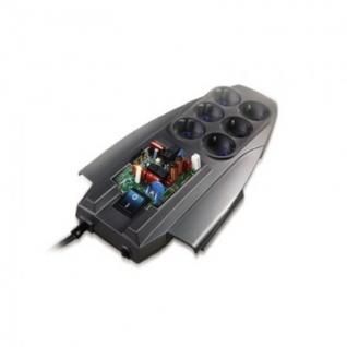 Сетевой фильтр PILOT X-Pro (6-4упр./1,8м/10А/650Дж/темно-серый)